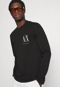 Armani Exchange - Long sleeved top - black - 3