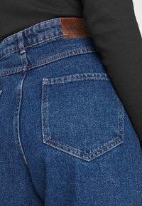 ONLY - ONLVERNA BALLOON  - Relaxed fit jeans - dark blue denim - 5
