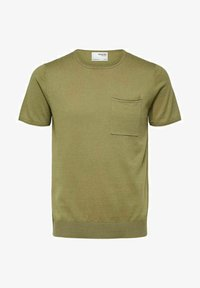Selected Homme - Basic T-shirt - aloe - 4