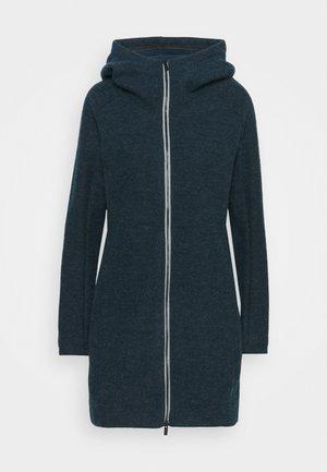 WOMENS TINSHAN COAT III - Fleece jacket - dark sea