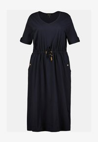 Ulla Popken - Jersey dress - marine - 1