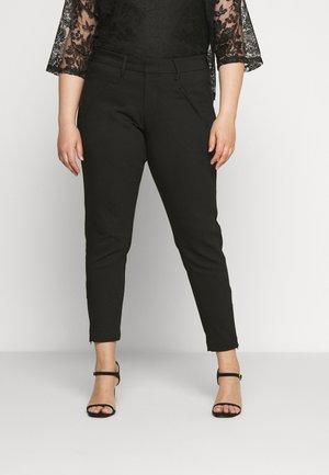 YMARIAMY CROPPED PANT - Kalhoty - black