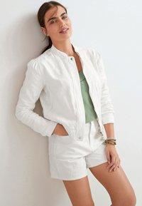 Next - Denim jacket - white - 0