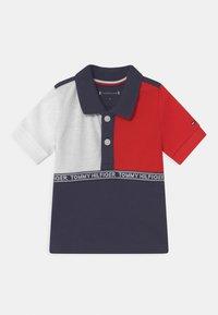 Tommy Hilfiger - BABY COLOURBLOCK UNISEX - Poloshirt - blue - 0