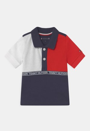 BABY COLOURBLOCK UNISEX - Polo shirt - blue