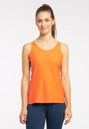 FUNKTIONS L.I.M TECH TANK - Sports shirt - flame orange