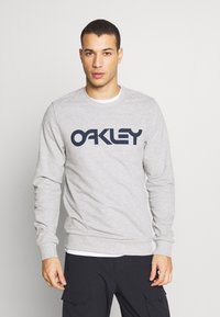 Oakley - CREW - Sweatshirt - mottled grey - 0