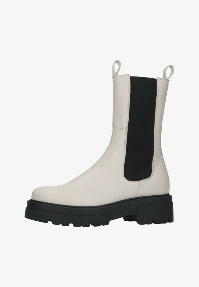 BEIGEFARBENE CHELSEA BOOTS AUS LEDER - Ankle boots - beige