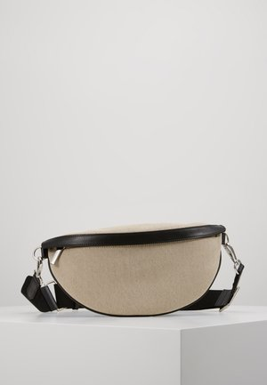 BINDI CANVAS BUM BAG - Bum bag - black