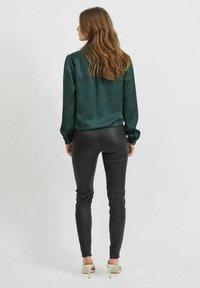 Vila - VIELLETTE - Button-down blouse - darkest spruce - 2