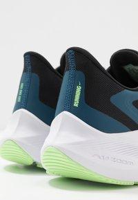 Nike Performance - ZOOM WINFLO  - Zapatillas de running neutras - black/vapor green/valerian blue - 5