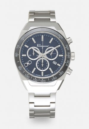 UNISEX - Chronograph watch - silver