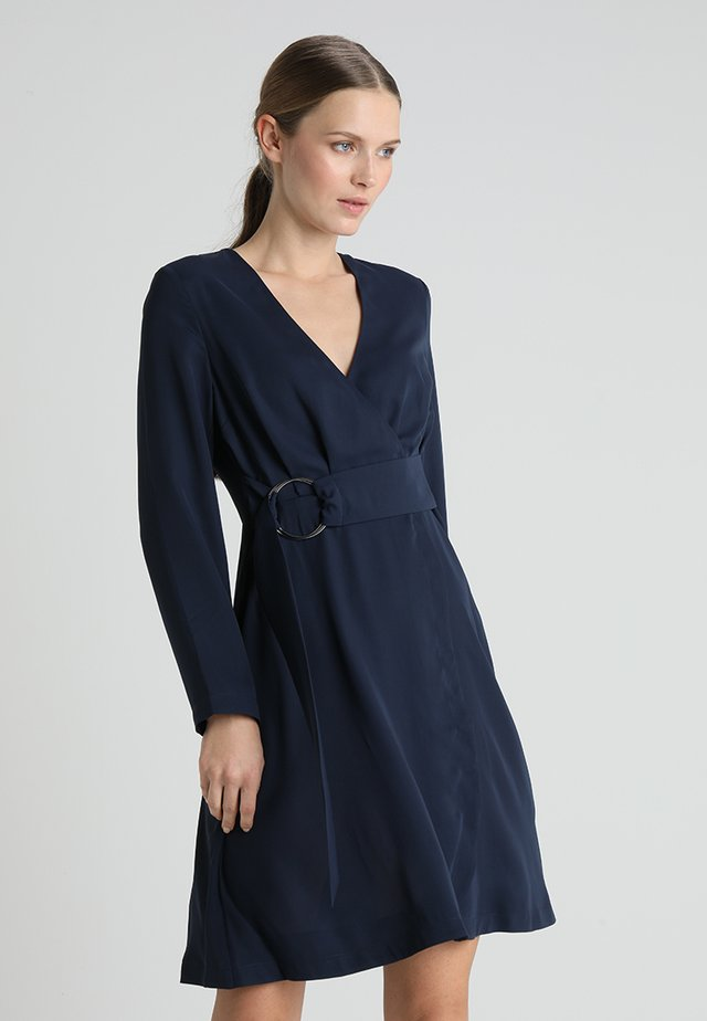 Day dress - navy blazer