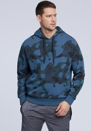 Bluza z kapturem - dark blue