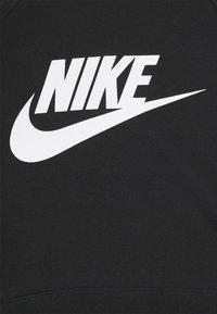 Nike Sportswear - CROP - Sweatshirt - black/white - 8