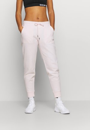 LOGO JOGGER - Tracksuit bottoms - ballet slipper