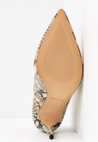ALDO - AMILMATHIEN - High heeled ankle boots - natural - 6
