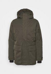 GROUND  - Down jacket - olive extreme