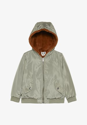 ANNIE REVERSIBLE JACKET - Zimní bunda - khaki/amber brown