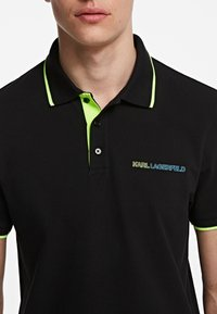 KARL LAGERFELD - Polo shirt - black