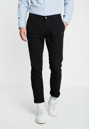 MARCO - Chino kalhoty - black