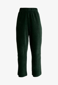 Monki - CORIE TROUSERS - Kalhoty - green - 3