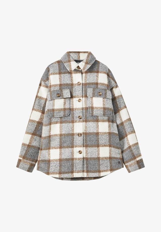 MIT BRUSTTASCHEN - Summer jacket - grey