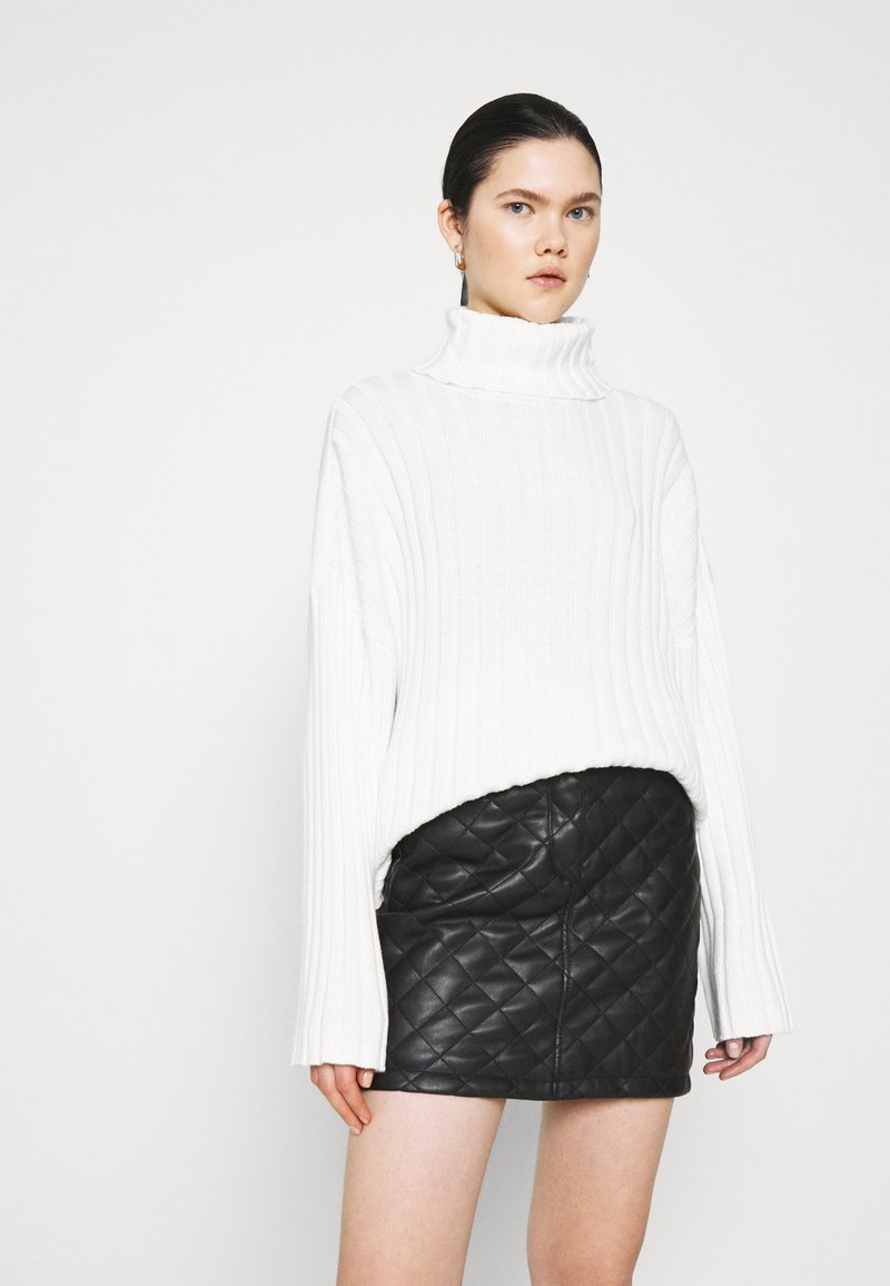 Monki - DONNIE  - Jumper - white solid
