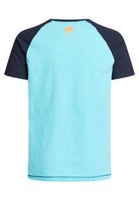 WE Fashion - T-shirt con stampa - blue - 6