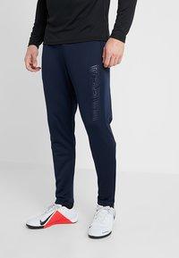 Nike Performance - FC BARCELONA PANT - Tracksuit bottoms - obsidian/rush blue - 0
