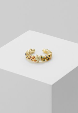 RAINBOW STAR EAR CUFF - Kolczyki - gold-coloured