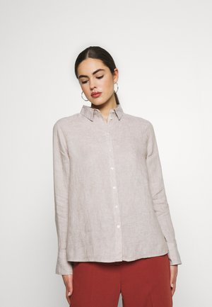 KIMBERLY - Button-down blouse - beige