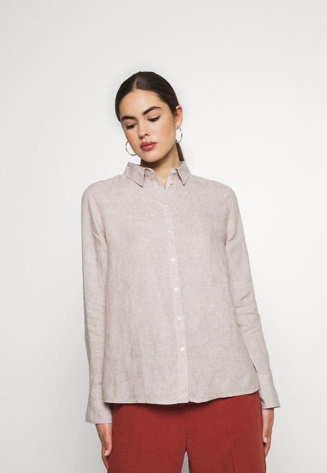 KIMBERLY SHIRT - Skjorta - beige