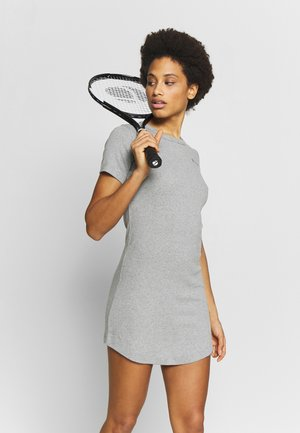 DRESS - Sports dress - grey melange