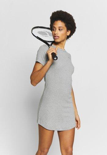 DRESS - Sports dress - grey melange