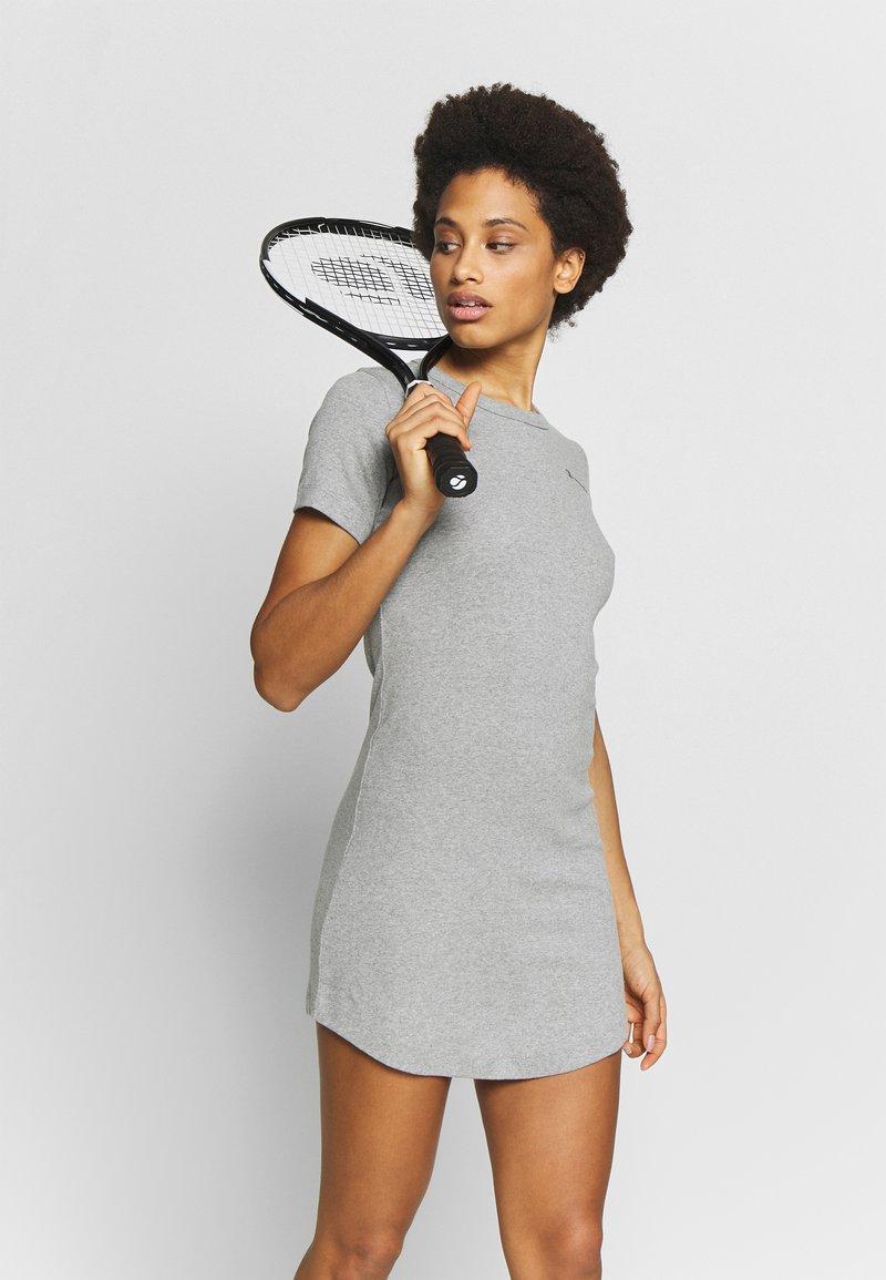 Champion - DRESS - Sportklänning - grey melange