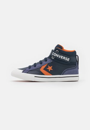 PRO BLAZE STRAP UNISEX - High-top trainers - obsidian/fire pit/white