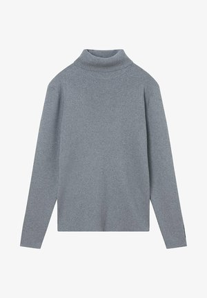 ROLL NECK  - Jumper - mid grey heather