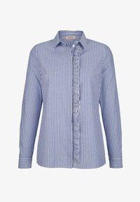 Alba Moda - Button-down blouse - marineblau weiß - 4