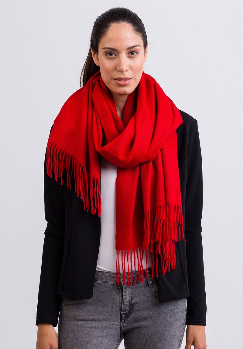 CASH-MERE - Scarf - rot