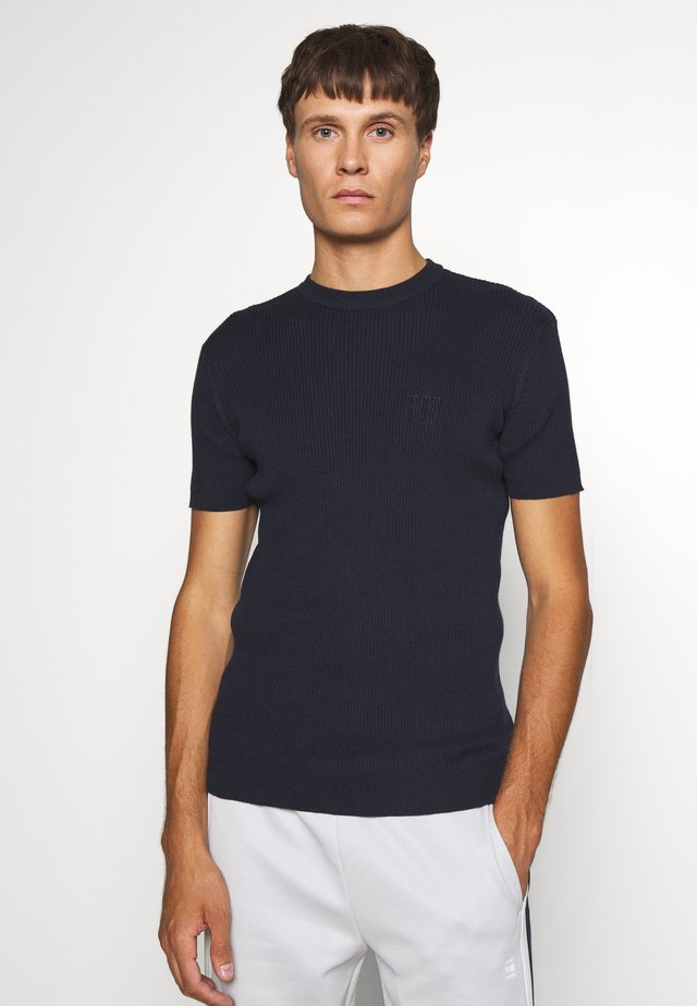 PAUL TEE - T-shirts basic - navy