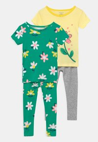 Carter's - FLOWER 2 PACK - Pyjamas - green/yellow - 0