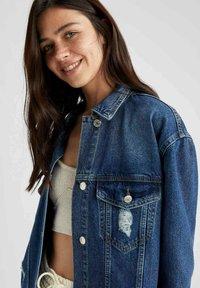 DeFacto - Denim jacket - blue - 4