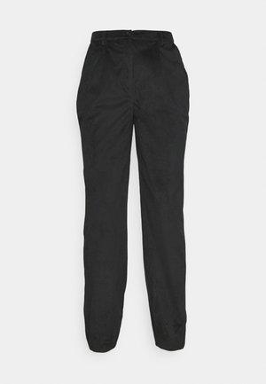 NARROW HEM TROUSERS - Kalhoty - black