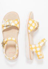 Clarks - CROWN BLOOM - Sandals - yellow - 0