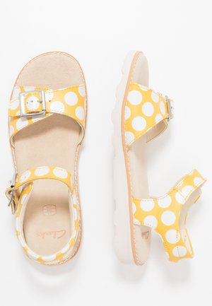 CROWN BLOOM - Sandals - yellow