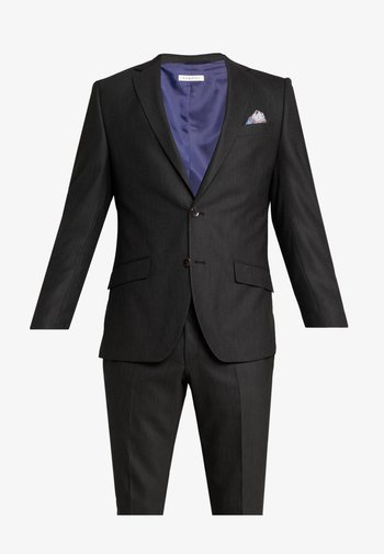 SUIT SLIM FIT - Kostuum - black
