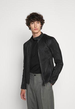 CABAN PELLE - Leather jacket - nero