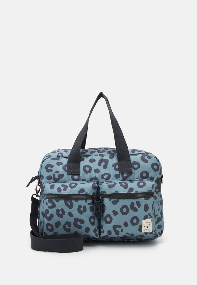 DIAPER BAG KIDZROOM ONE THING AT A TIME SET - Tasker - blue