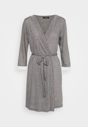 WARM DAY DESHABILLE - Dressing gown - gris
